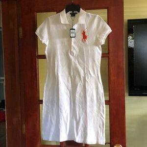 Polo by Ralph Lauren Dresses - Ralph Lauren ORANGE Big Pony Tennis Dress